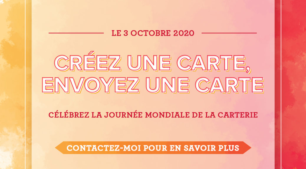 Stampin'Up! - Journée mondiale de la carterie 2020
